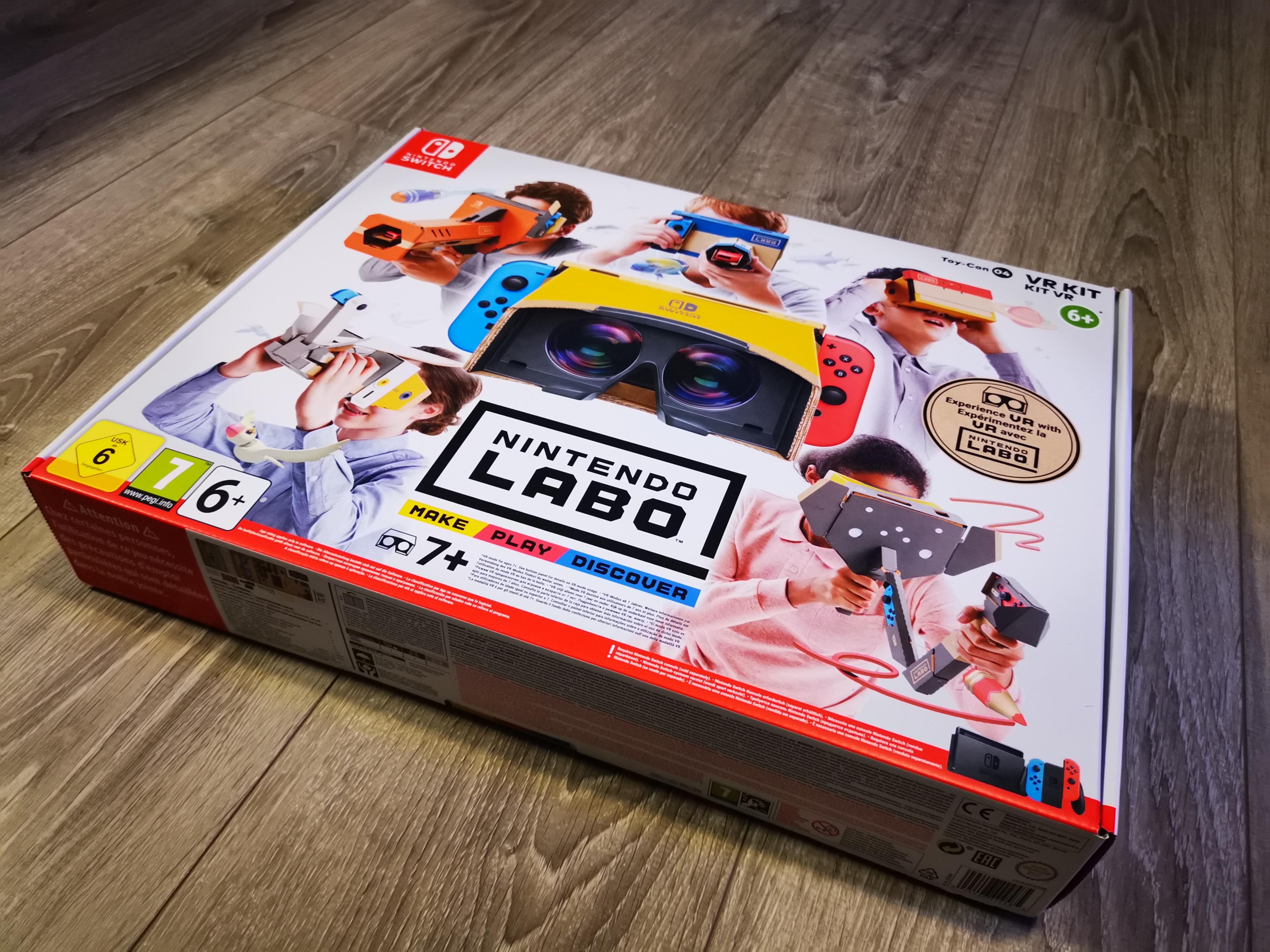TEST: Nintendo Labo VR
