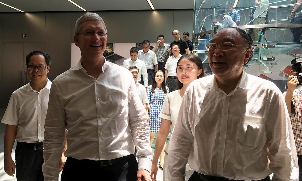 Apple vil flytte mye produksjon vekk fra Kina