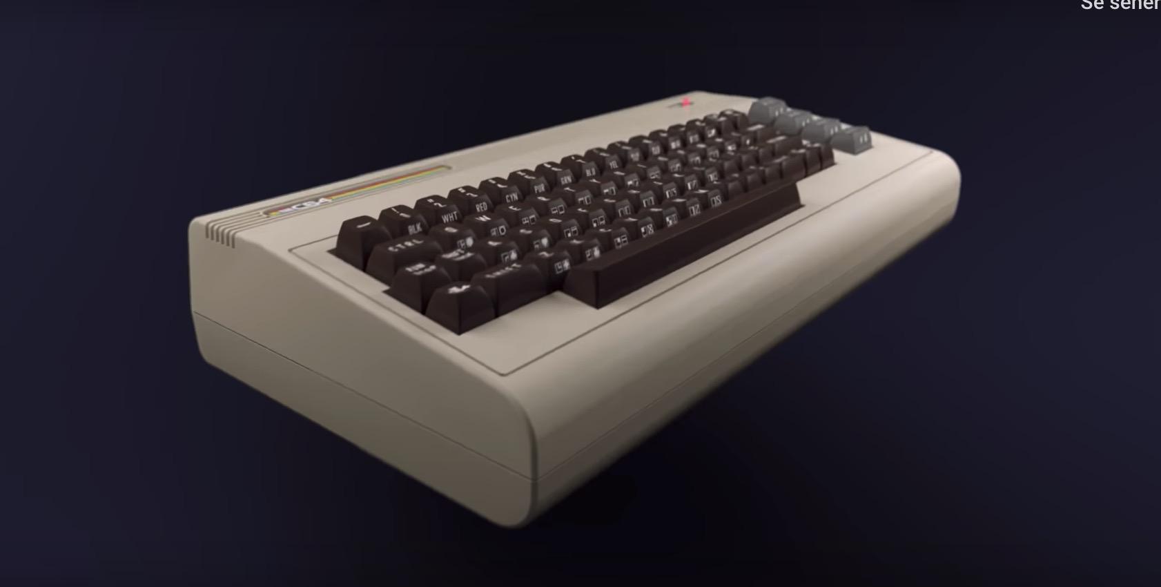 C64 retro konsoll