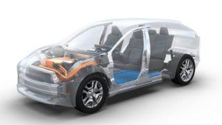 Går sammen med Subaru om fullelektrisk SUV