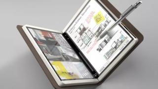Microsoft hinter til en hemmelig Surface med dobbelskjerm