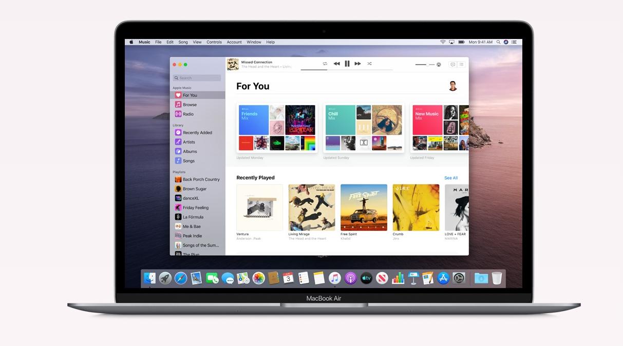 Dette er nye macOS Catalina uten iTunes