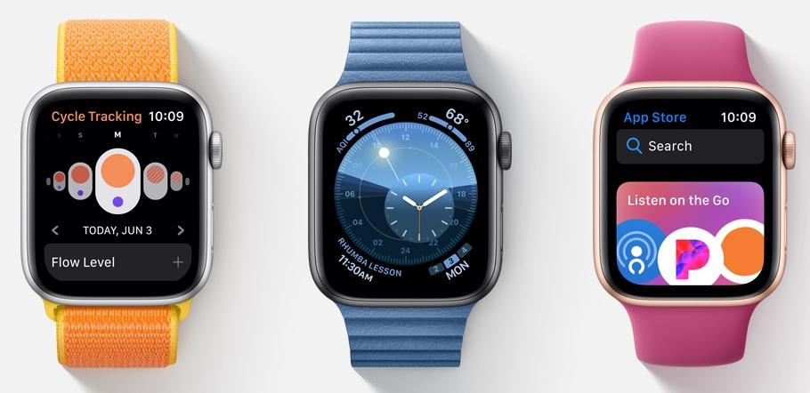 watchOS 6 serverer forbedret treningsinformasjon, egen App Store og nye klokkeansikter.