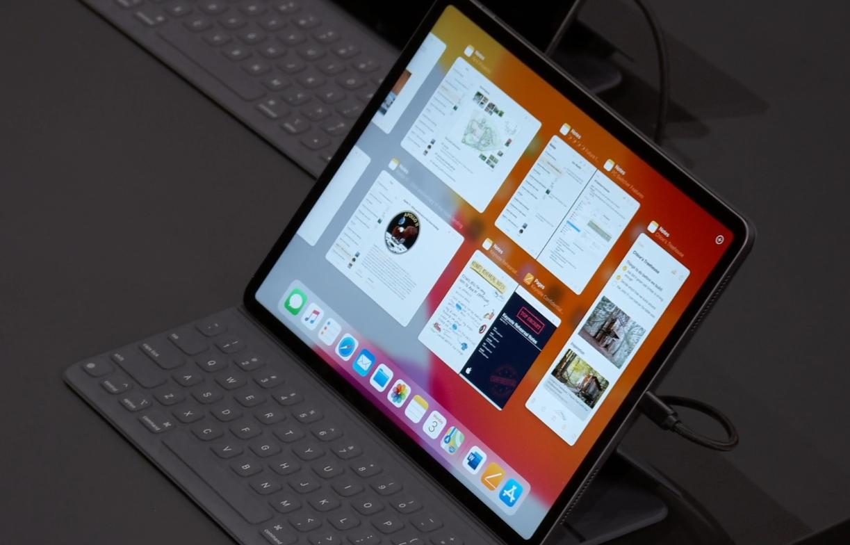 Multitasking i iPadOS.