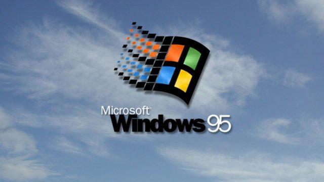 Windows 95 mus