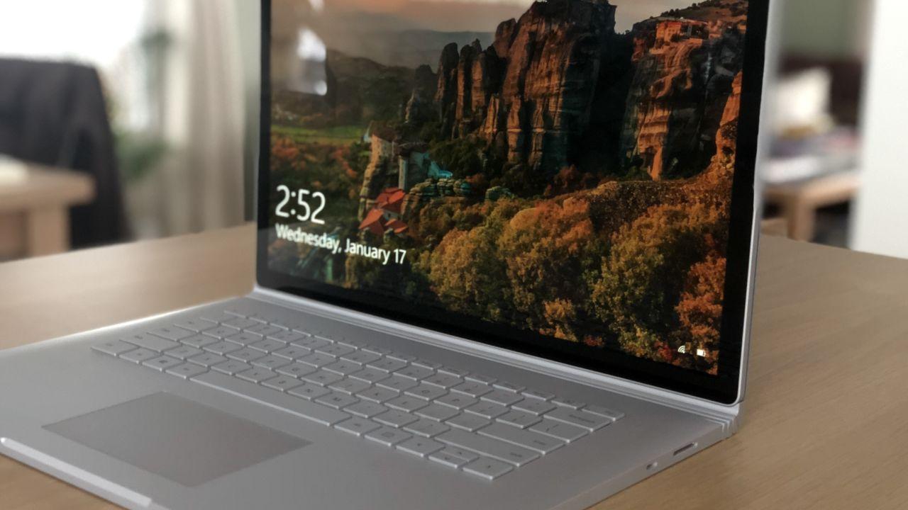 Surface Book 2 GPU-feil