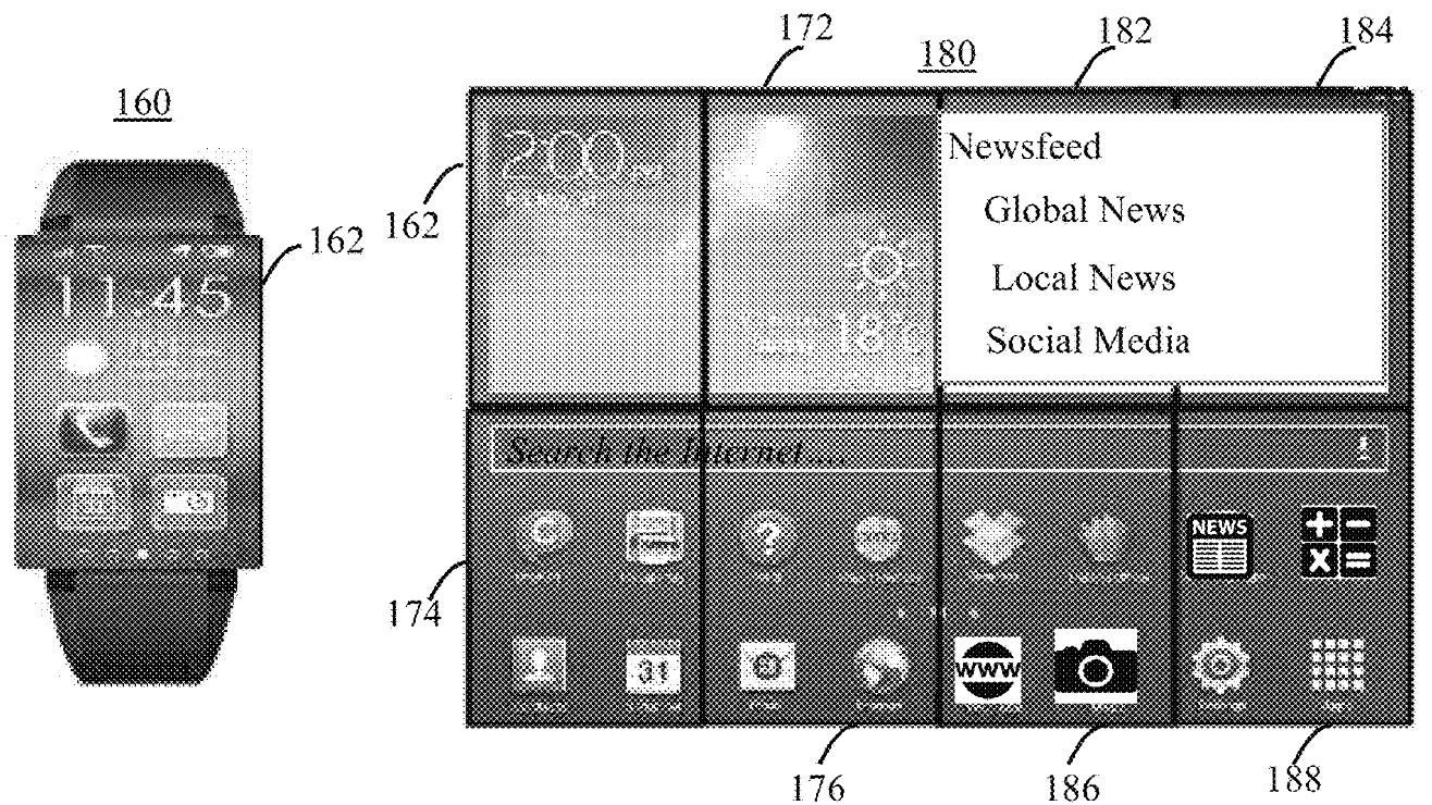 Tar patent på smartklokke med stor skjerm