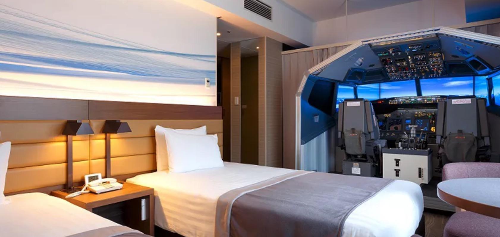 Flysimulator hotell
