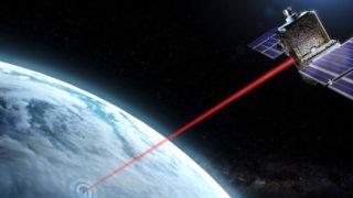 Frankrike satelitt-laser