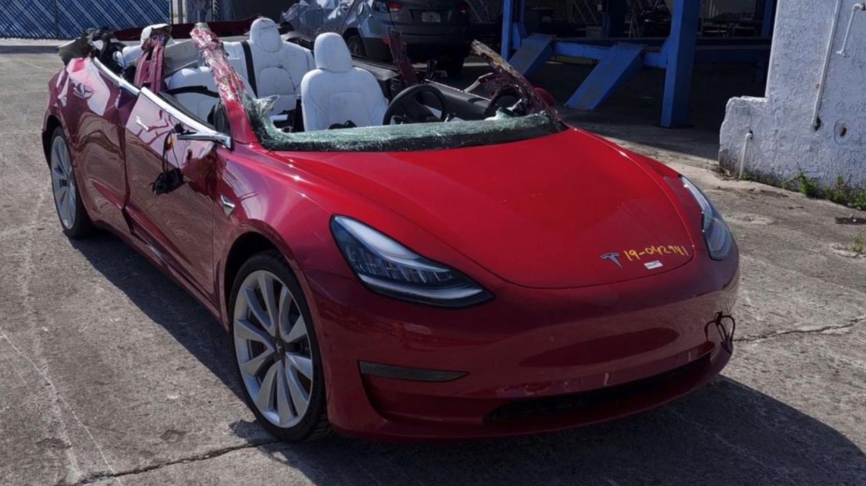Tesla Model 3 ulykke