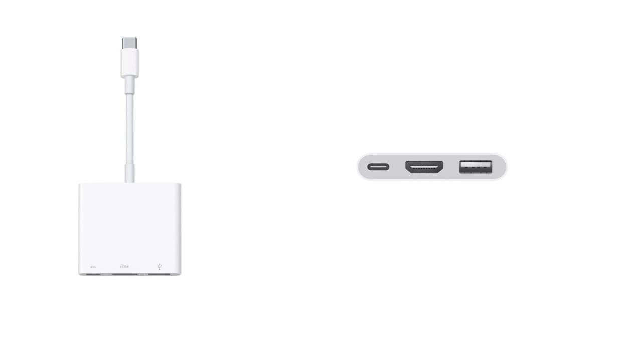 Adapter USB-C multiport
