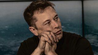 Elon Musk pressekonferanse
