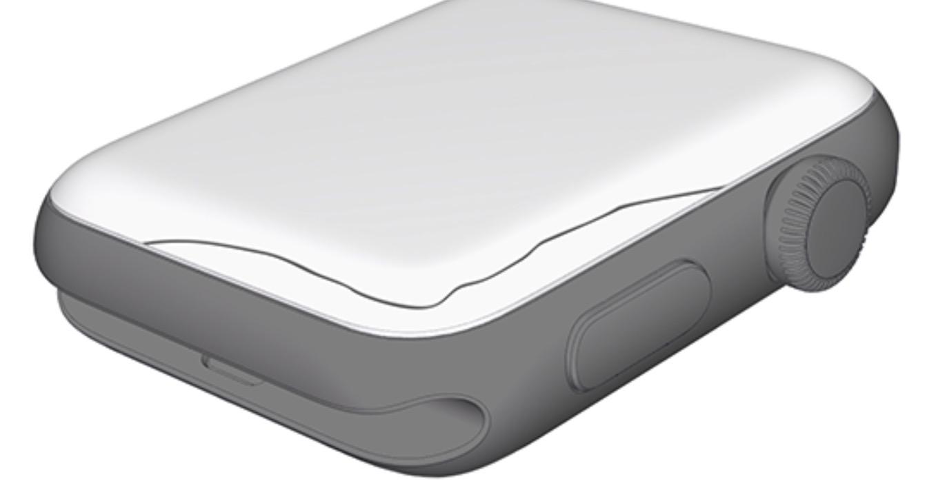 Apple Watch skjerm sprekk