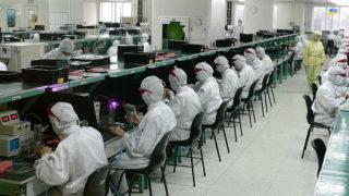 Foxconn fabrikk Apple iPhone