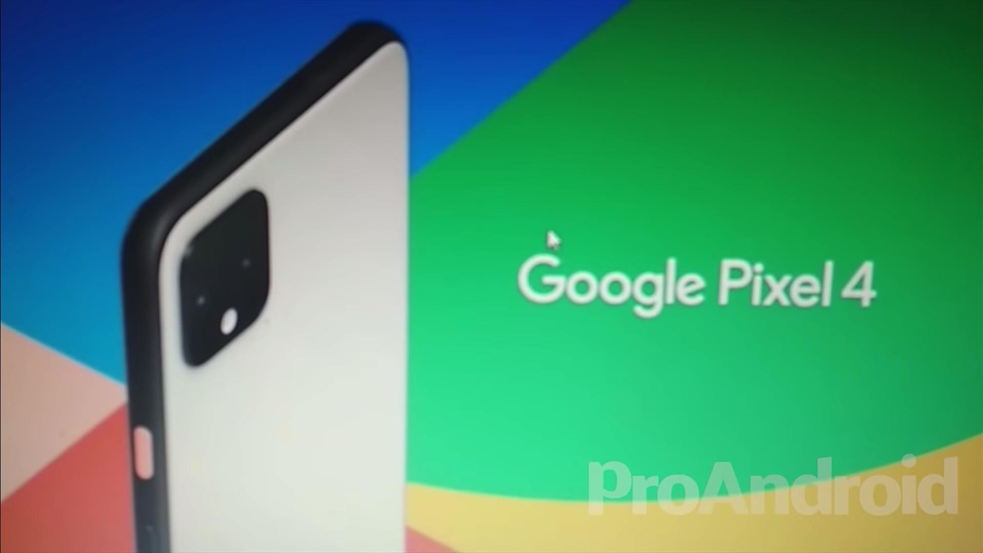 Pixel 4 promo