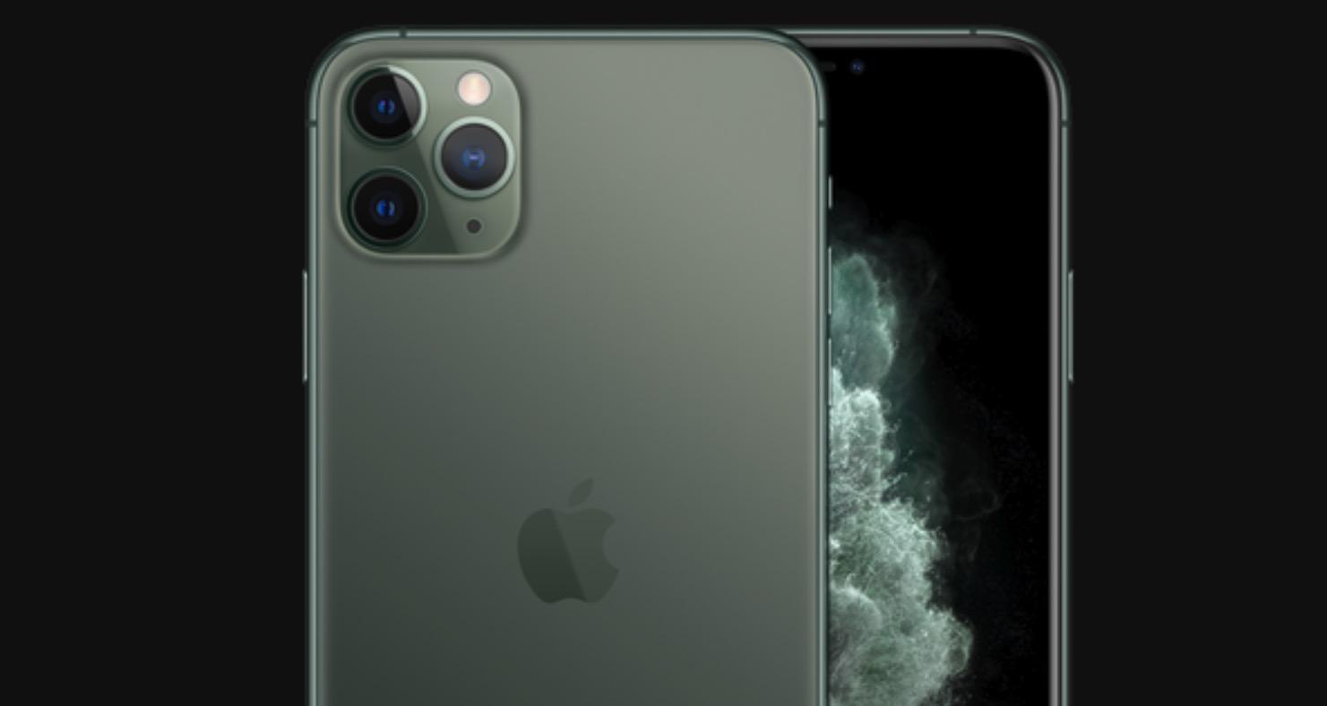 iPhone 11 Pro midnattsgrønn