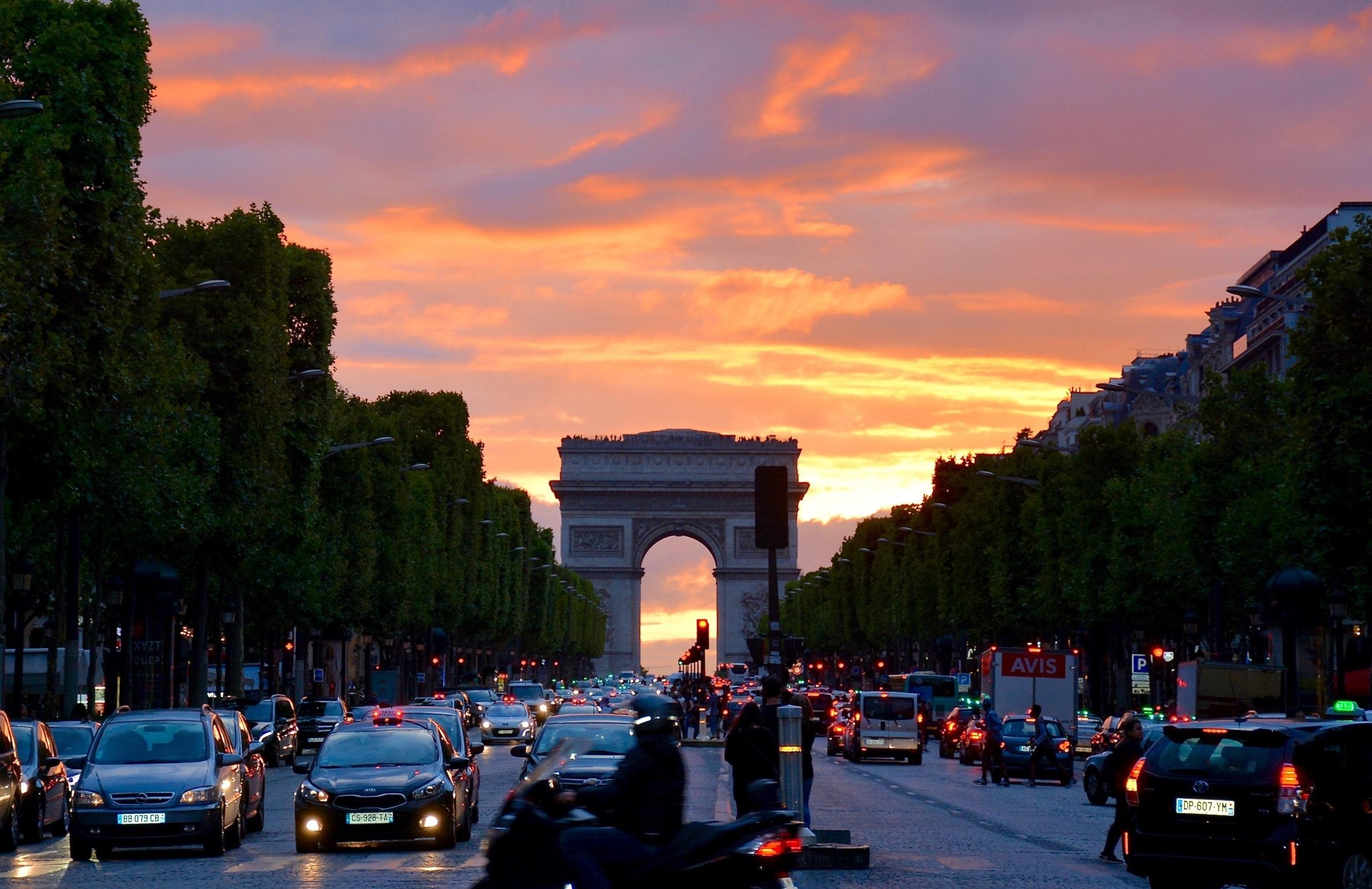 Paris trafikk