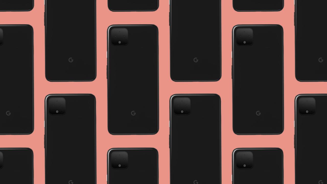 pixel-4-black-orange-pattern-e1570289580703