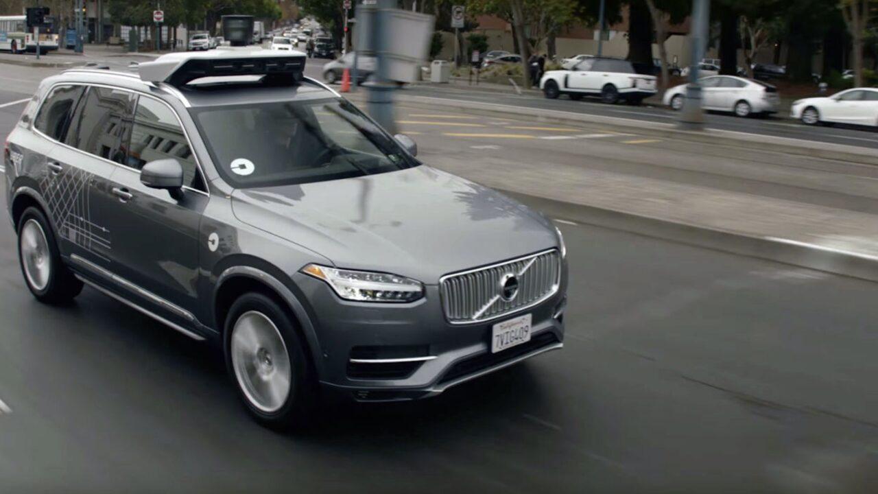 Uber selvkjørende bil
