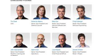 Apple ledere