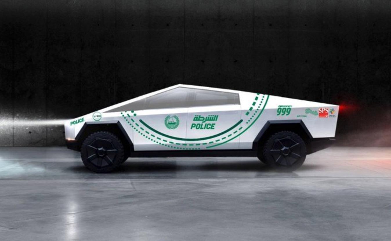 Dubai Tesla Cybertruck