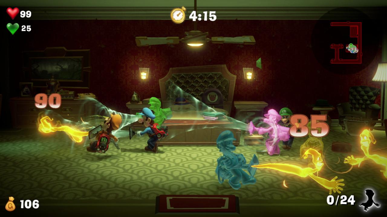 Luigi's Mansion onlinespill