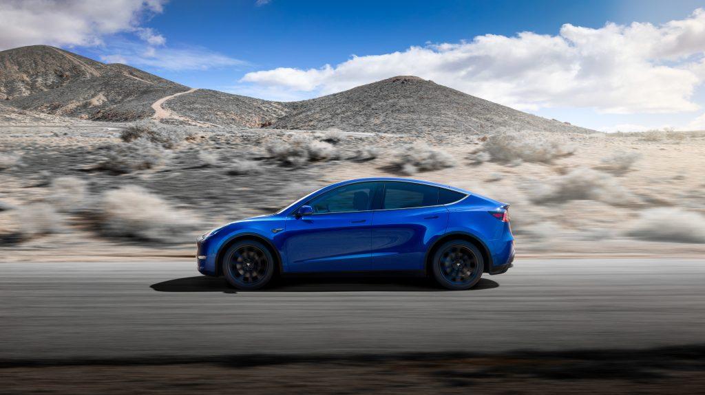Model-Y-Side-Blue-levering-forste-kvartal-2020