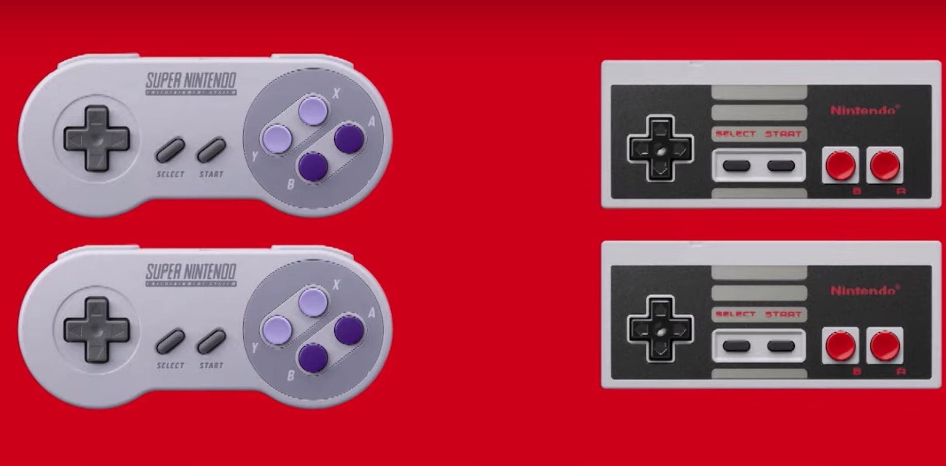 Nintendo Switch SNES NES