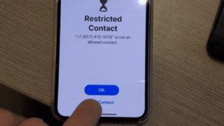 iOS foreldrekontroll