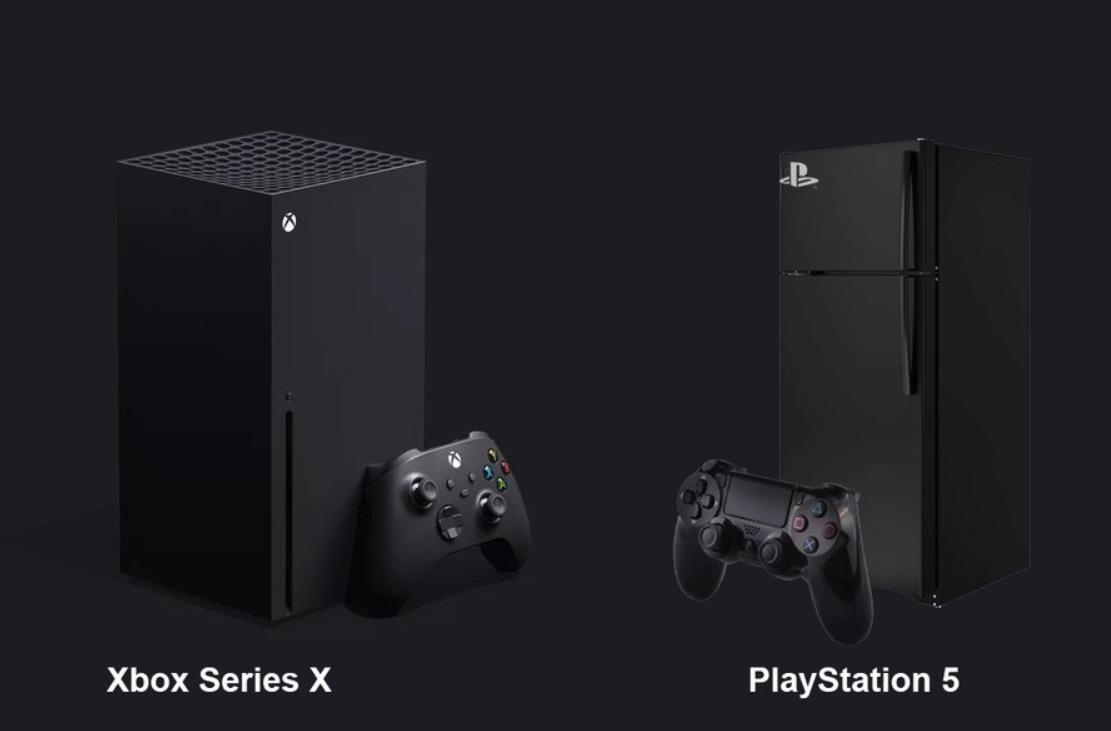 PS5 kjøleskap