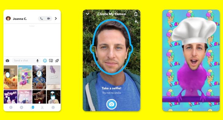 Snapchat-Cameos