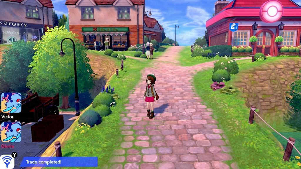 En av de første byene man besøker i Pokemon