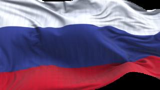 Russland flagg