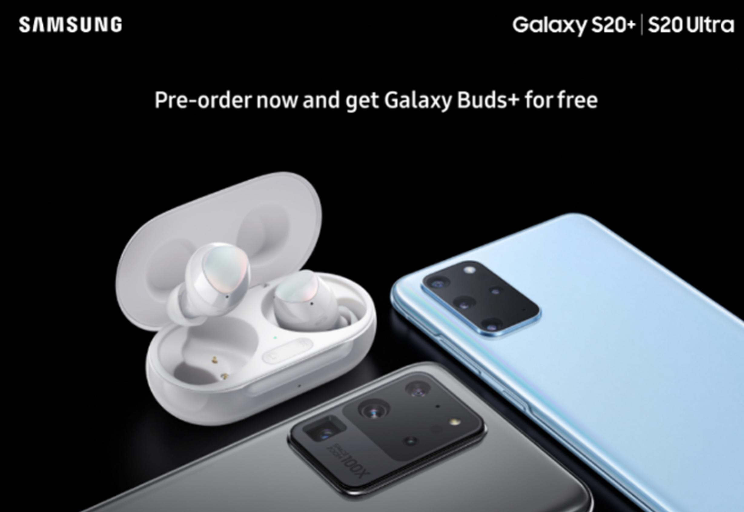 S20 Galaxy Buds