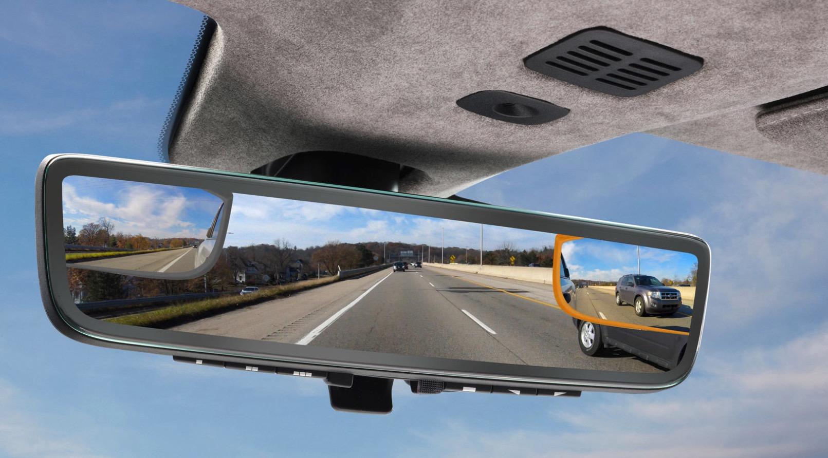 Aston Martin bakspeil