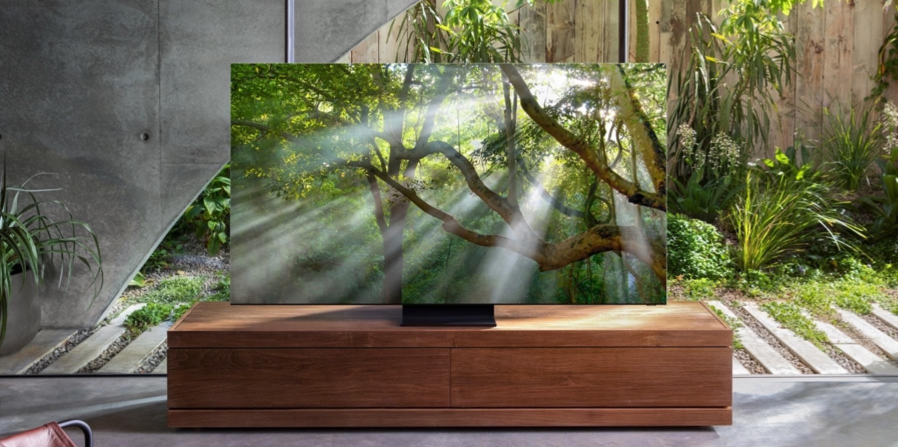 Samsung rammeløs TV