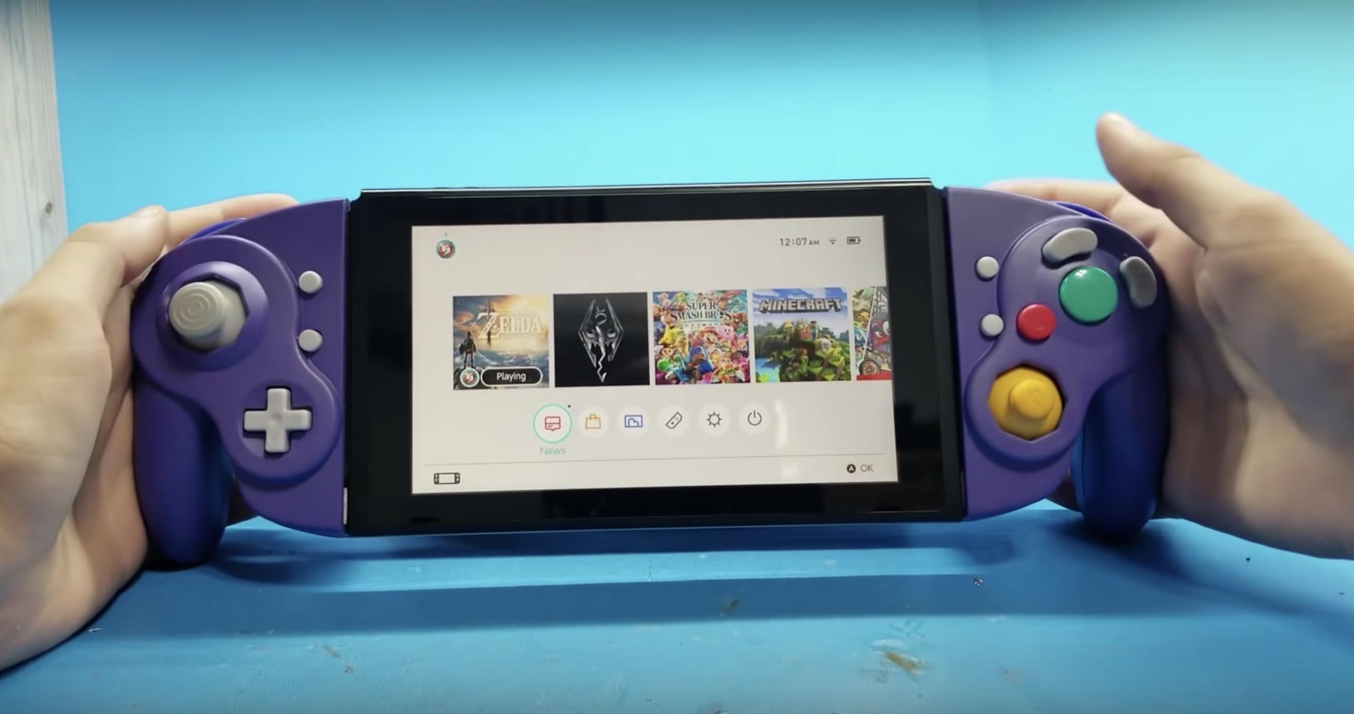 Switch GameCube kontroller