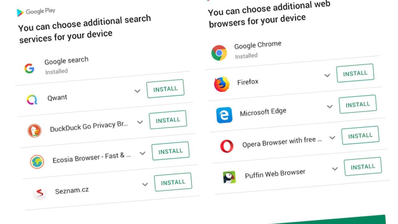 Søkemotor Google Android