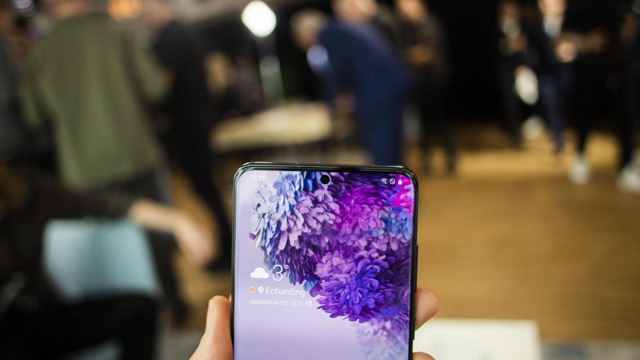 Samsung OLED S20 Ultra