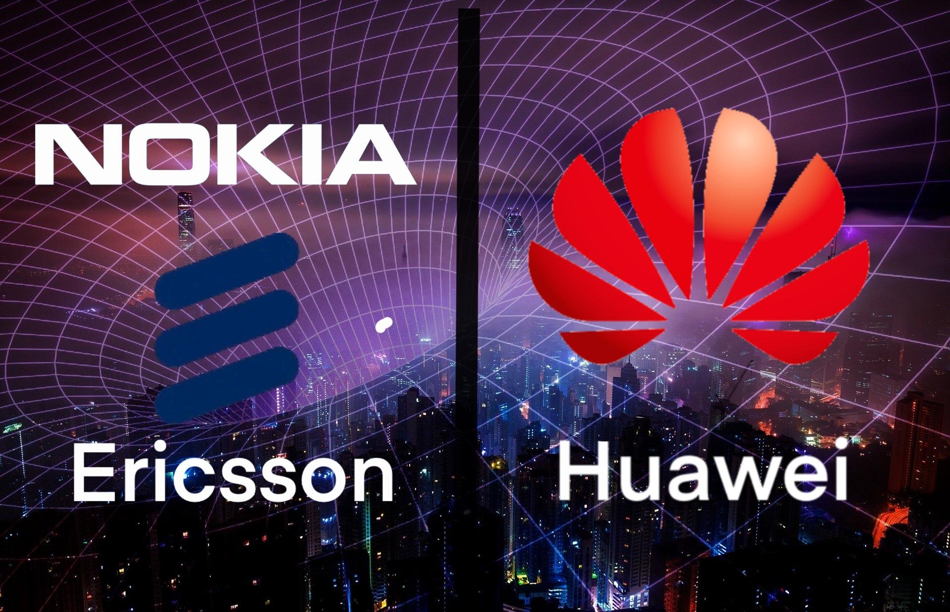 Huawei Nokia Ericsson