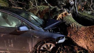 Tesla Model X Autopilot ulykke