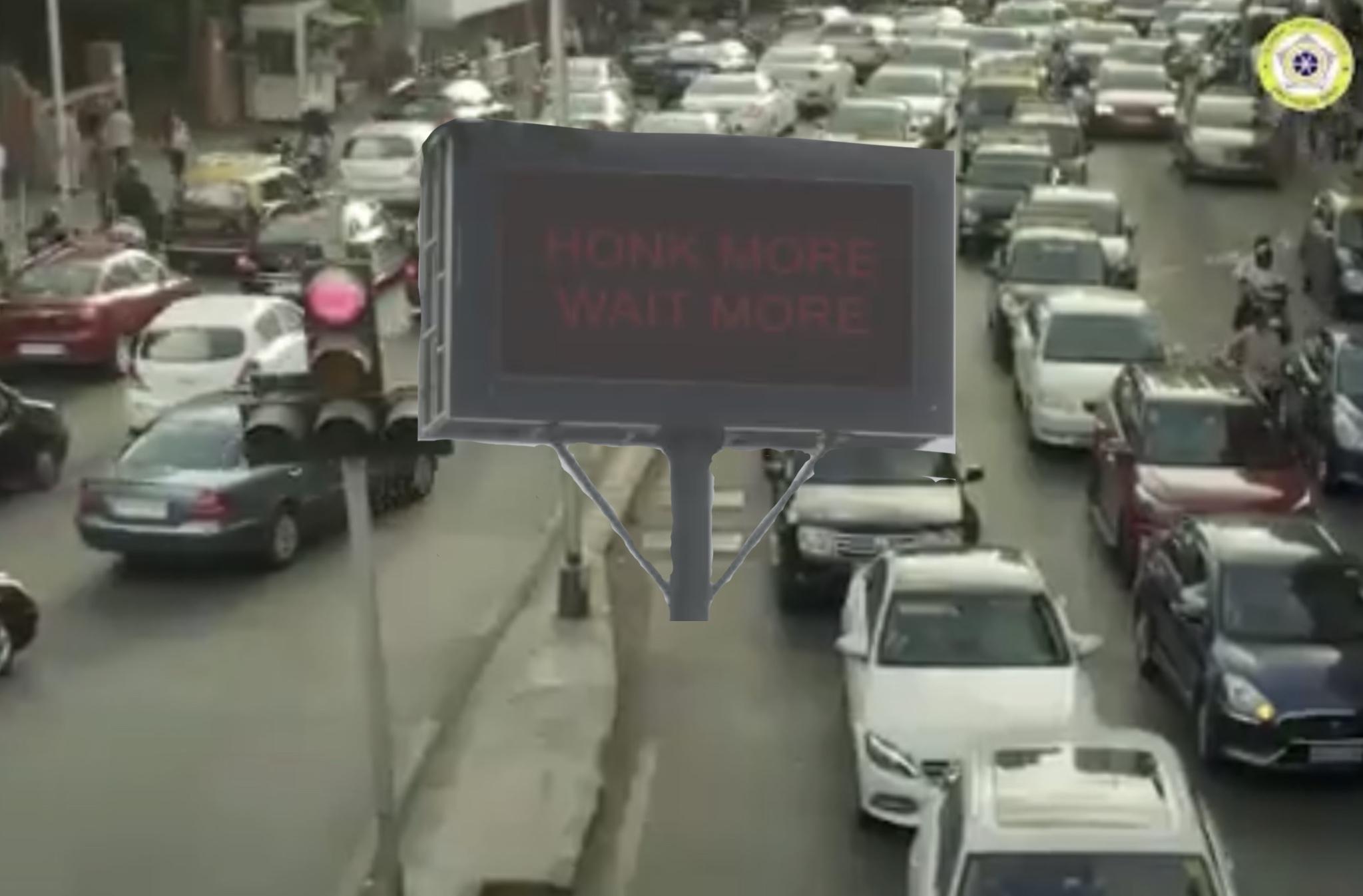 Mumbai politi rødt lys