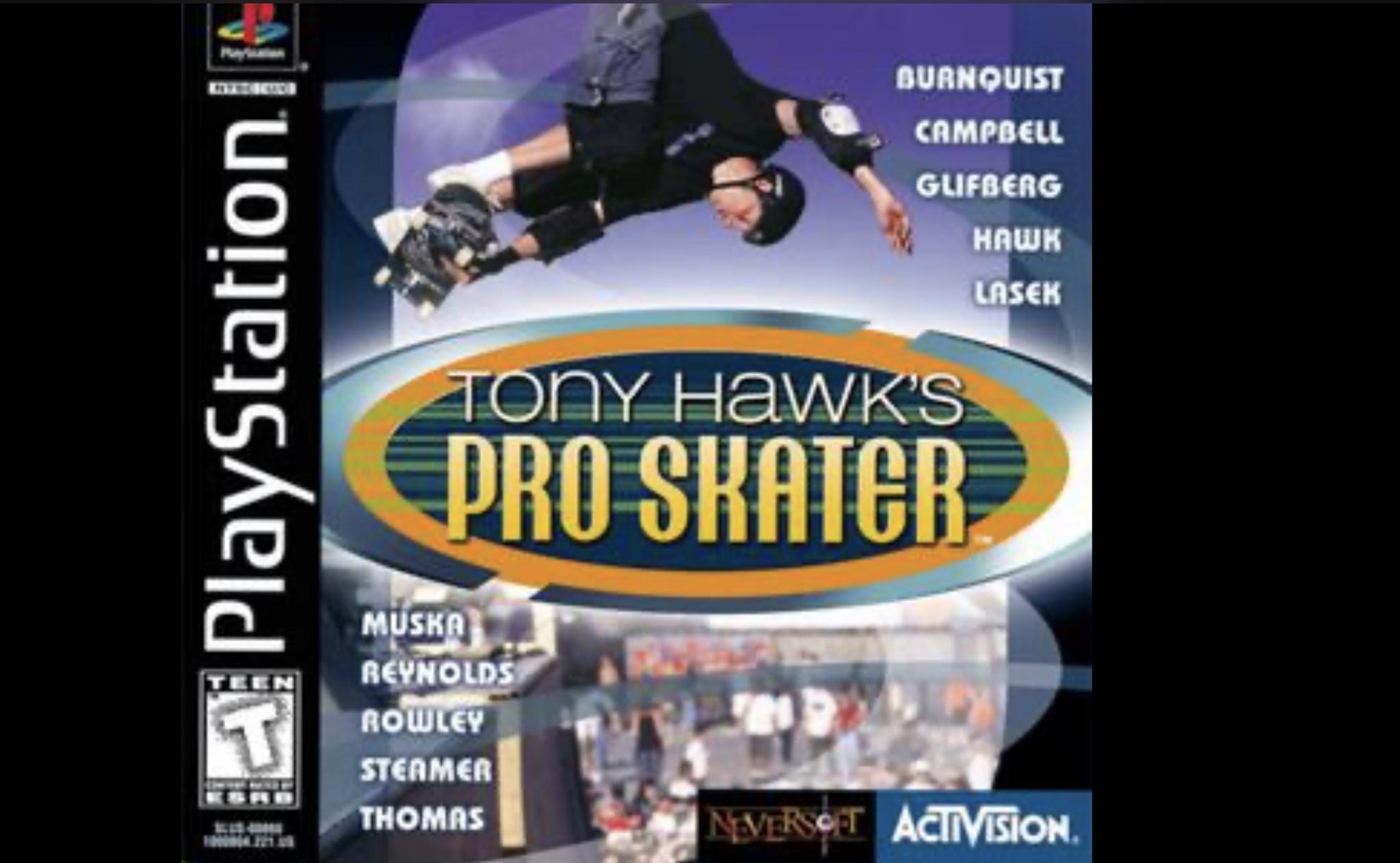 Tony Hawk spill