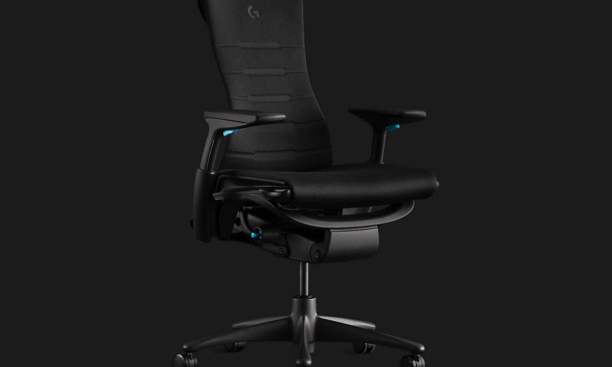 Sjekk denne gaming stolen fra Logitech og Herman Miller til