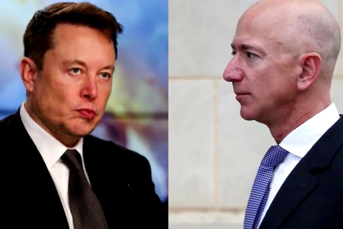 Musk vs Bezos