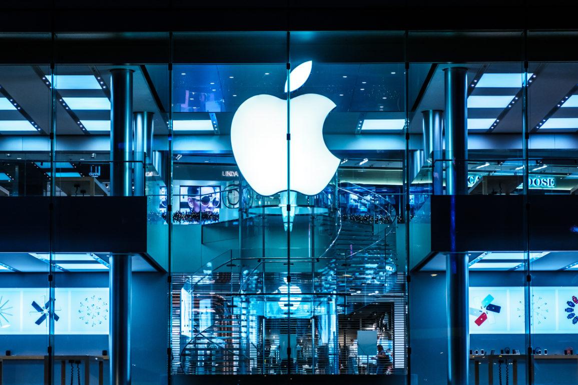 Kun en håndfull banker og oljeselskaper som nå er større enn Apple i hele verden.