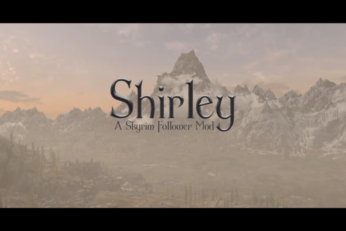 En ny mod til Skyrim gir populære Grandma Shirley en etterlengtet plass spillet.