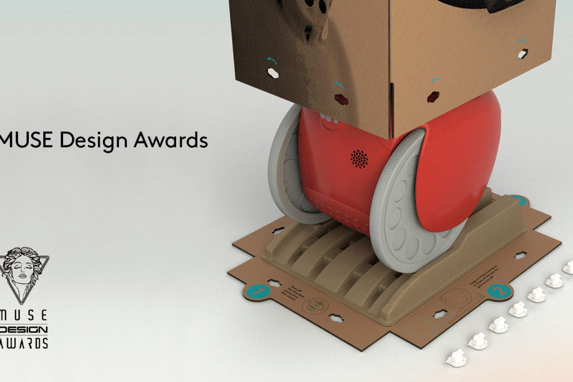 At denne roboten har vunnet prestisjefylte designpriser er ikke rart med tanke på hvem som står bak.