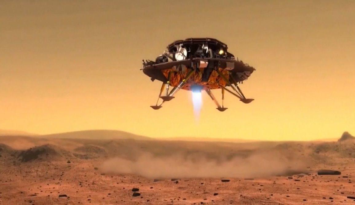 Kinesere på Mars