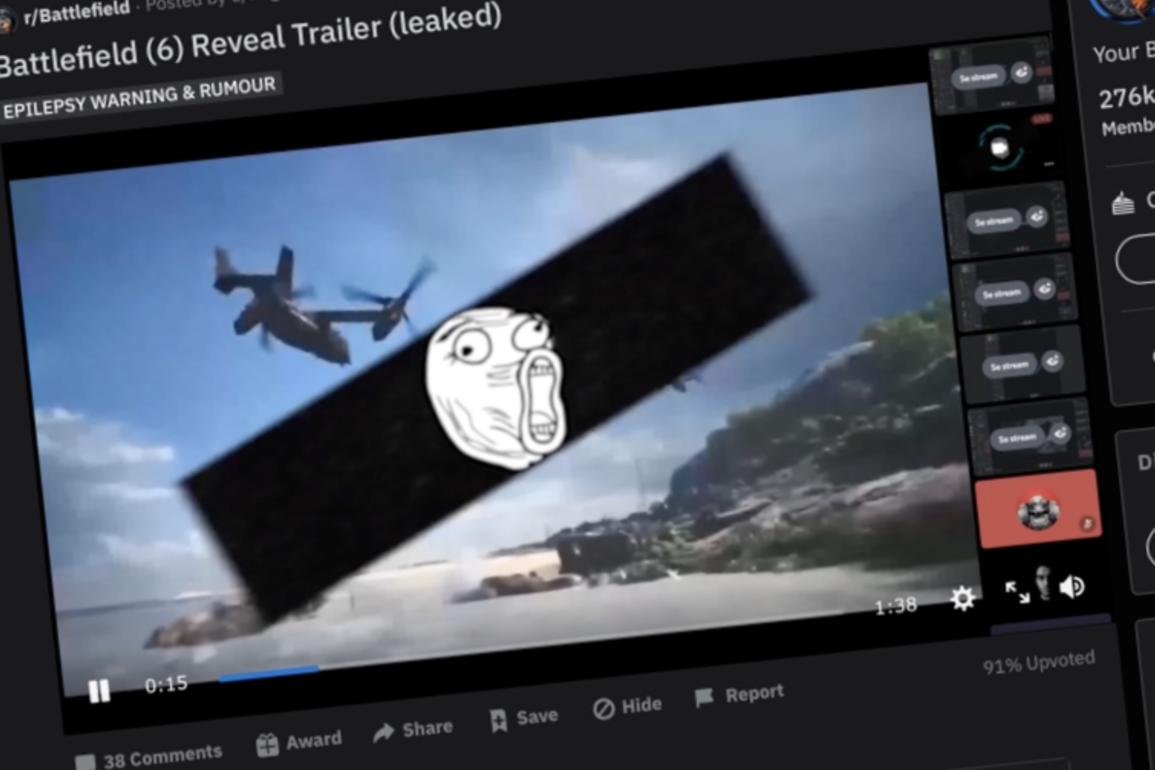 battlefieldvideolekkasje